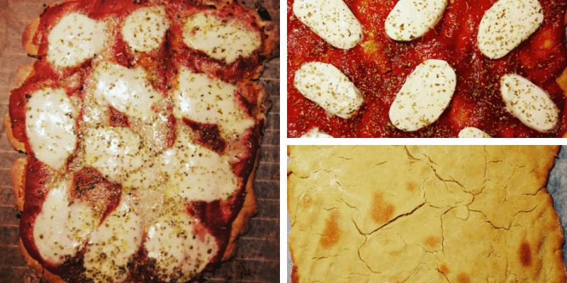 Low FODMAP Pizza margerita